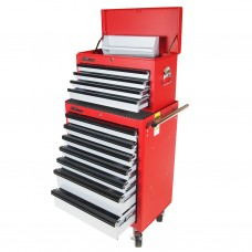 Шкаф инструментальный подкатной 7 секций с ящиком JTC-3011 JTC