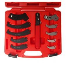 Ключ для круглых гаек с прорезью (с насадками) JTC