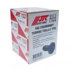 Приспособление для проворачивания коленвала (AUDI A6,A7 Sportback,A8 4.0 4V TFSI) JTC