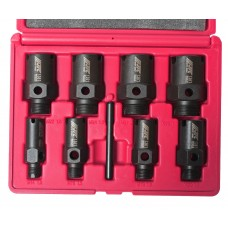 Набор инструментов для восстановления резьбы штуцеров систем кондиционирования 9пр. в кейсе JTC
