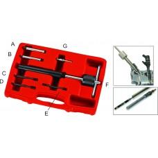 Набор инструментов для демонтажа свечей накаливания (адаптер 2.7-6мм) 7пр. в кейсе JTC