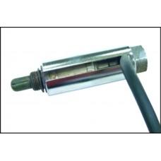 Головка для снятия датчика кислорода 1/2'х22мм 7/8' глубина 90мм,паз 7мм JTC