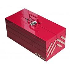 Набор инструментов 108 предметов 1/4',1/2' в переносном инстр. ящике 535х258х225мм (5 лотков) JTC