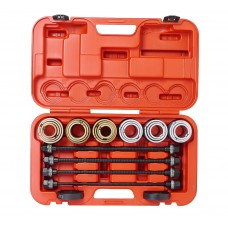 Набор инструментов для демонтажа/монтажа сайлентблоков внутр. d=34-72мм универсальный 26 пр. JTC
