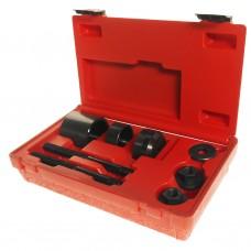 Набор инструментов для демонтажа/монтажа сайлентблоков подвески задней (OPEL) в кейсе JTC
