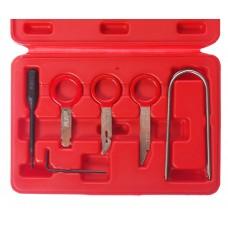 Набор инструментов для демонтажа авторадиоаппаратуры 10 предметов в кейсе JTC