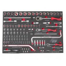 Набор инструментов 109 предметов слесарно-монтажный в ложементе JTC
