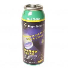 Приспособление для обнаружения утечек хладагента 3 в 1 (R-134a 45г,масло 15г,краситель 7г) JTC